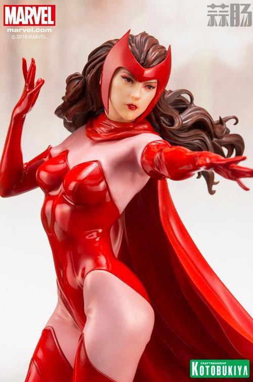 寿屋公开1:10漫画版猩红女巫全新官图来袭! 模玩 第4张