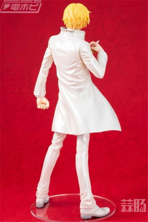 当厨师穿上晚礼服 Megahouse《航海王》山治全新白色礼服版手办来袭! 模玩 第2张