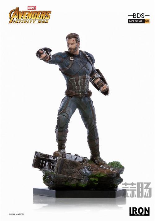 Iron Studios 1/10《复联3:无限战争》美国队长雕像来袭! 模玩 第1张