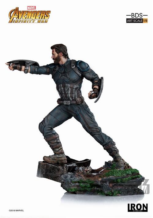 Iron Studios 1/10《复联3:无限战争》美国队长雕像来袭! 模玩 第3张