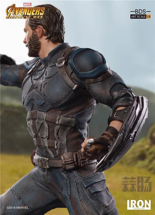 Iron Studios 1/10《复联3:无限战争》美国队长雕像来袭! 模玩 第5张