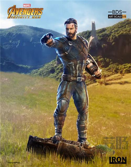 Iron Studios 1/10《复联3:无限战争》美国队长雕像来袭! 模玩 第2张