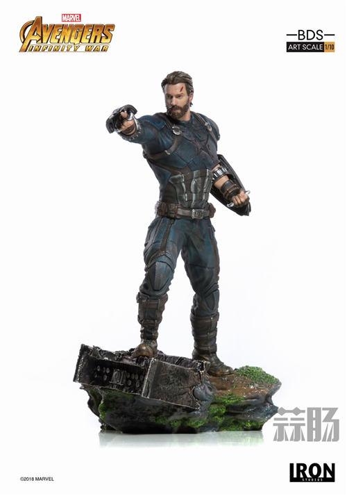Iron Studios 1/10《复联3:无限战争》美国队长雕像来袭! 模玩 第4张