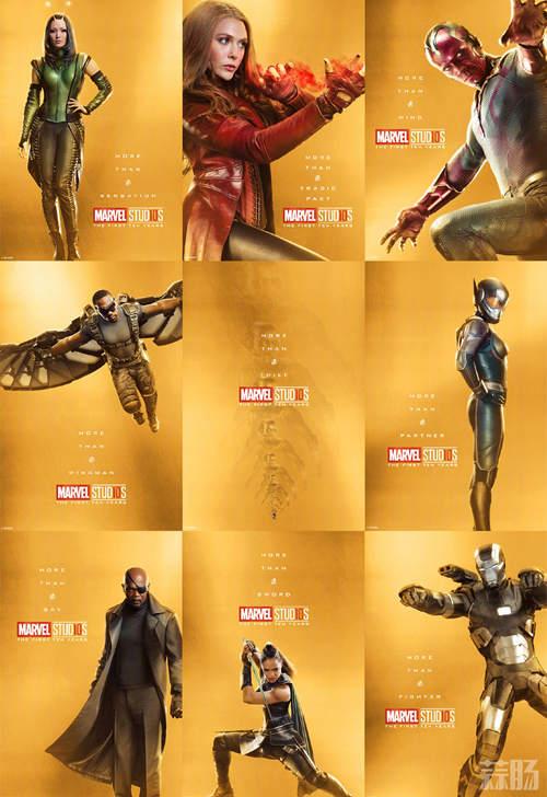 庆祝漫威电影宇宙诞生10周年!32张全角色海报公开! 动漫 第4张