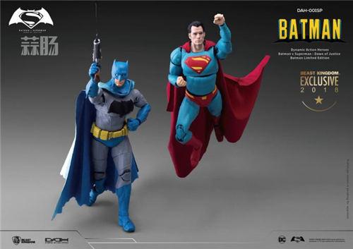 2018SDCC圣地亚哥限定1/9漫画色蝙蝠侠&超人&神奇女侠  神奇女侠 超人 蝙蝠侠 模玩  第3张