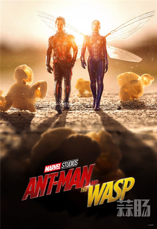 《蚁人2》全新预告海报&剧照公开!蚁人黄蜂女同框! 动漫 第9张