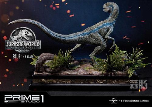 Prime 1 Studio 新品:1/6 《侏罗纪世界2》Blue布鲁来袭! 模玩 第3张