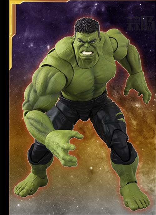 《复仇者联盟3:无限战争》SHF绿巨人浩克 官图公布! 模玩 第1张