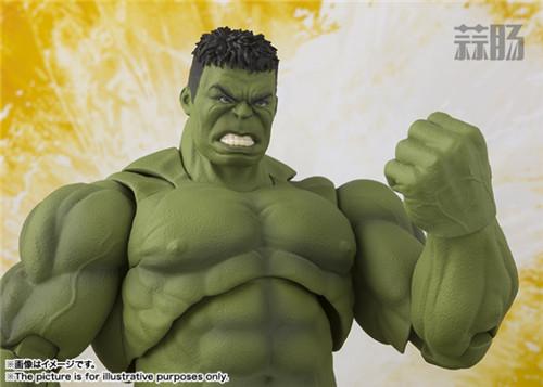 《复仇者联盟3:无限战争》SHF绿巨人浩克 官图公布! 模玩 第4张