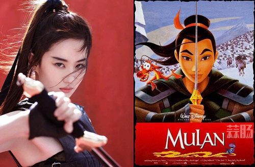迪士尼真人电影《花木兰》在中国正式立项!预计2020年3月上映! 动漫 第1张