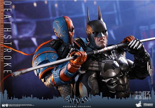 Hot Toys推出视频游戏《蝙蝠侠:阿卡姆起源》丧钟1:6比例珍藏人偶 模玩 第2张