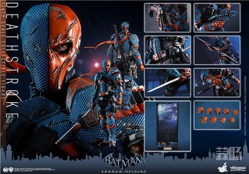 Hot Toys推出视频游戏《蝙蝠侠:阿卡姆起源》丧钟1:6比例珍藏人偶 模玩 第7张