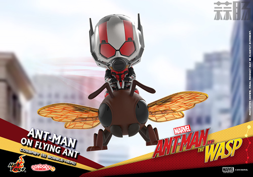 Hot Toys推出《蚁人2:黄蜂女现身》COSBABY套装 模玩 第3张
