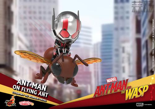 Hot Toys推出《蚁人2:黄蜂女现身》COSBABY套装 模玩 第4张