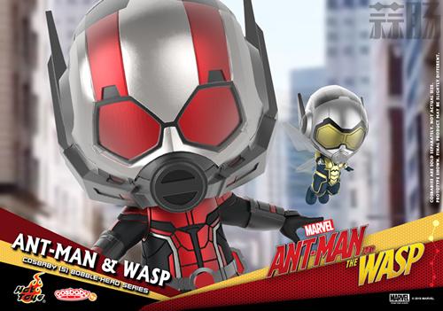 Hot Toys推出《蚁人2:黄蜂女现身》COSBABY套装 模玩 第6张