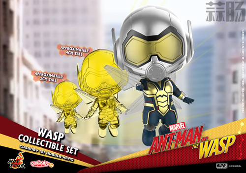 Hot Toys推出《蚁人2:黄蜂女现身》COSBABY套装 模玩 第8张