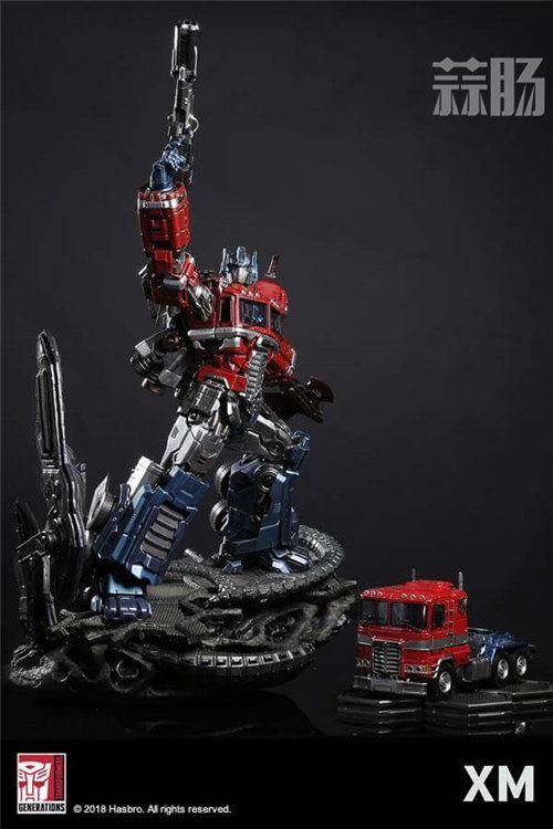 XM Optimus Prime擎天柱雕像 官图更新! 变形金刚动态 第2张