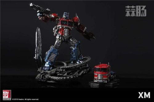 XM Optimus Prime擎天柱雕像 官图更新! 变形金刚动态 第3张