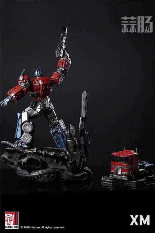 XM Optimus Prime擎天柱雕像 官图更新! 变形金刚动态 第5张