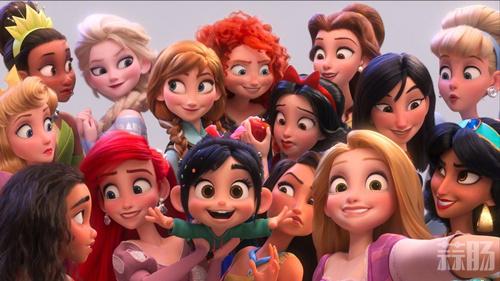 《无敌破坏王2》迪士尼公主合影剧照公开 11月美国上映! 动漫 第1张