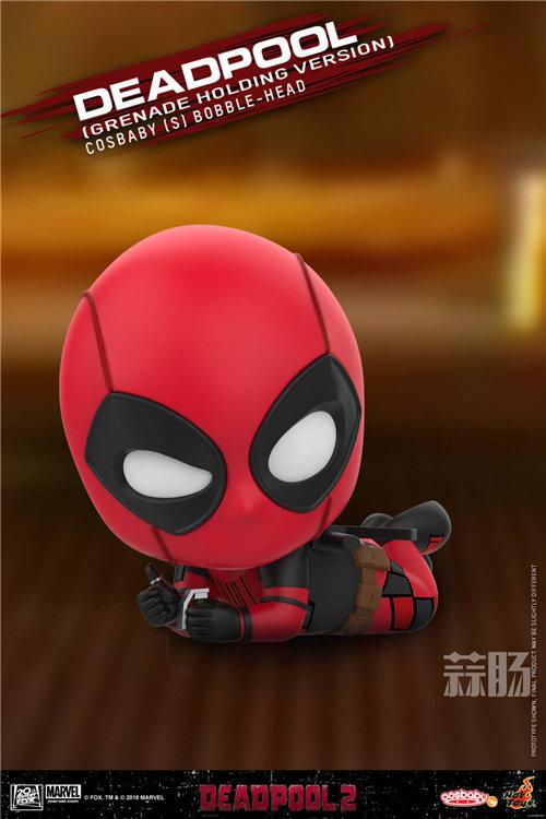 Hot Toys《死侍2》死侍COSBABY (S)迷你珍藏人偶 模玩 第3张