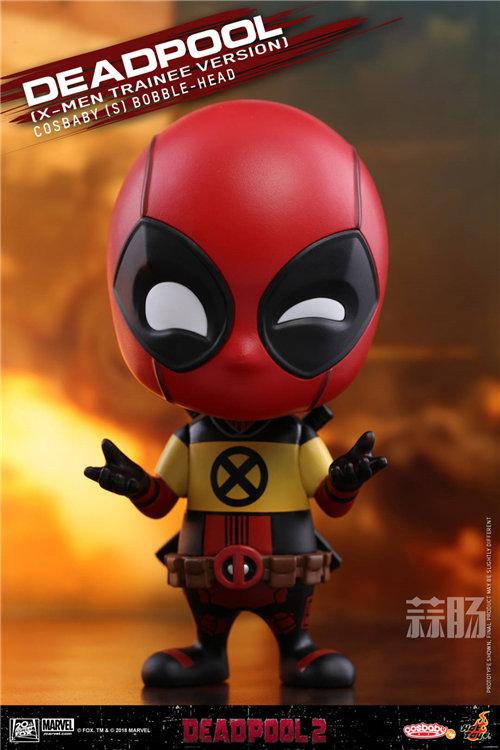 Hot Toys《死侍2》死侍COSBABY (S)迷你珍藏人偶 模玩 第9张