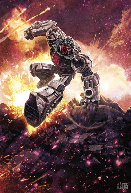 变形金刚《塞博坦之战: 围城》 V级擎天柱&D级横炮 官图发布! 变形金刚 第5张