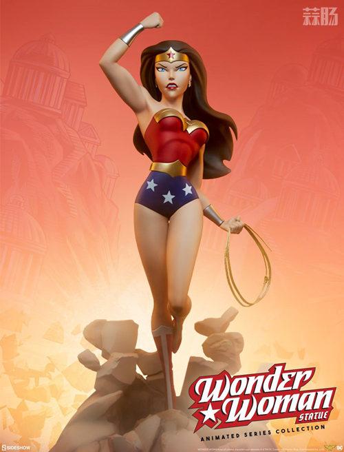Sideshow 预告:DC三巨头——神奇女侠&蝙蝠侠&超人即将来袭! 蝙蝠侠 超人 神奇女侠 动漫  第1张