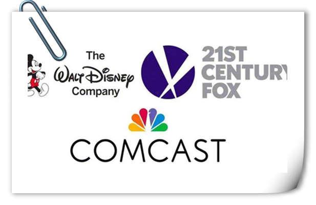 康卡斯特将不再竞争21世纪福克斯资产  迪士尼回应:超开心