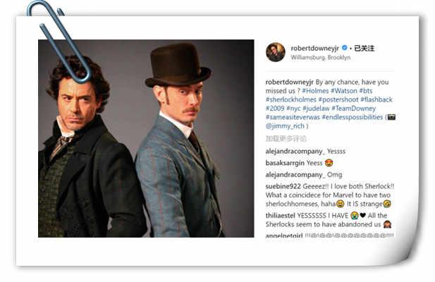 《大侦探福尔摩斯3》正式定档!小罗伯特唐尼&裘德洛回归!