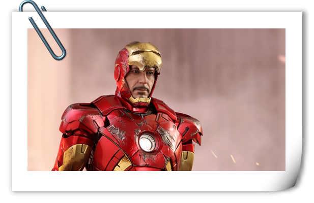 Hot Toys挑战高难度精心打造《复仇者联盟》钢铁侠Mark VII 1:6比例合金珍藏人偶