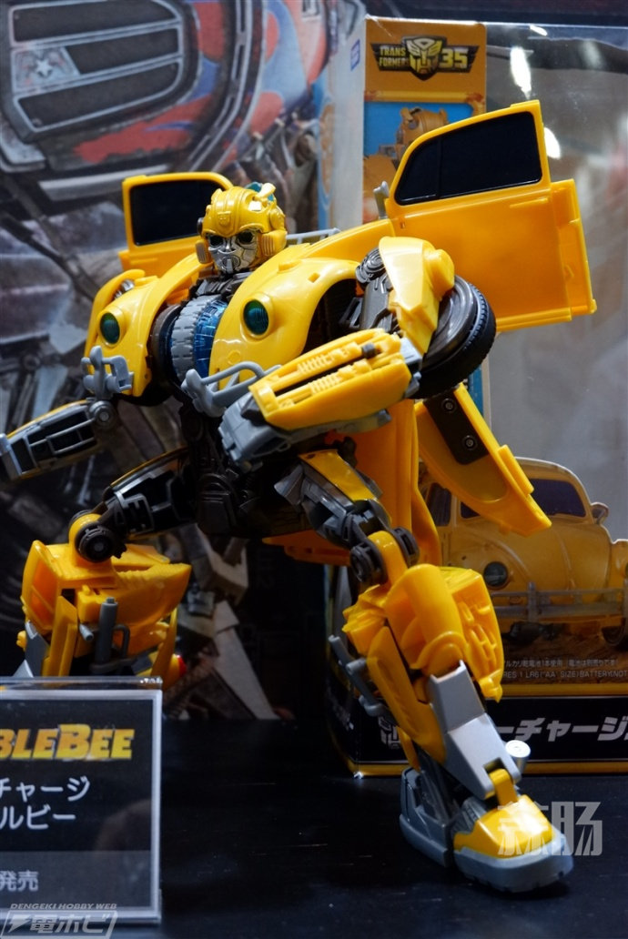 2018WF夏 TakaraTOMY展台的甲壳虫大黄蜂来啦! 变形金刚 第1张