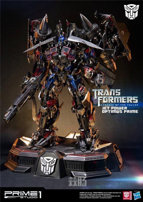 霸气!Prime 1 Studio《变形金刚2》天火擎天柱合体雕像官图来袭! 变形金刚 第1张