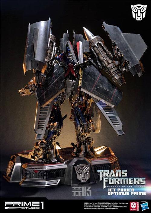 霸气!Prime 1 Studio《变形金刚2》天火擎天柱合体雕像官图来袭! 变形金刚 第3张