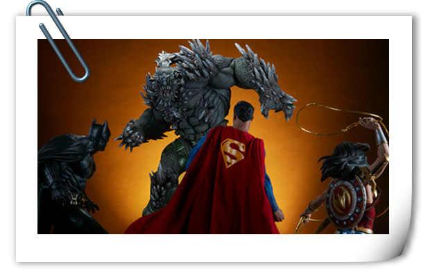 Sideshow新品26.5寸DC超级大反派-毁灭日雕像来袭!