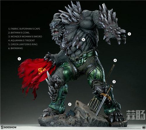 Sideshow新品26.5寸DC超级大反派-毁灭日雕像来袭! 模玩 第7张