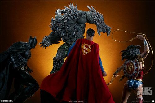 Sideshow新品26.5寸DC超级大反派-毁灭日雕像来袭! 模玩 第3张