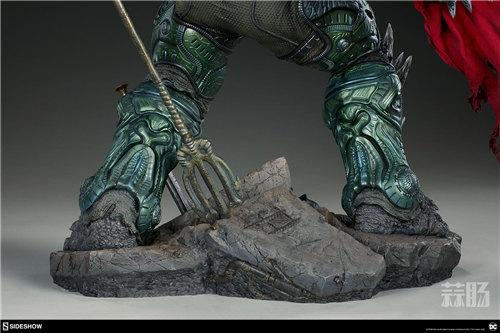 Sideshow新品26.5寸DC超级大反派-毁灭日雕像来袭! 模玩 第4张
