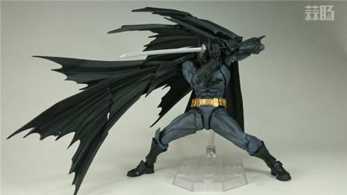 海洋堂可动模型——全新Batman蝙蝠侠来袭! 模玩 第2张