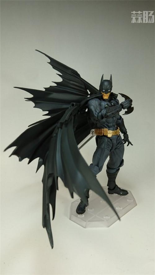 海洋堂可动模型——全新Batman蝙蝠侠来袭! 模玩 第3张