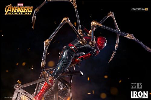 Iron Studios1/4《复仇者联盟3》钢铁蜘蛛侠来袭! 雕像 蜘蛛侠 复仇者联盟3 模玩  第2张