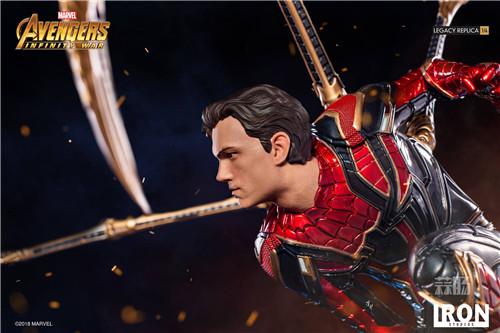 Iron Studios1/4《复仇者联盟3》钢铁蜘蛛侠来袭! 雕像 蜘蛛侠 复仇者联盟3 模玩  第1张