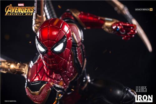 Iron Studios1/4《复仇者联盟3》钢铁蜘蛛侠来袭! 雕像 蜘蛛侠 复仇者联盟3 模玩  第4张