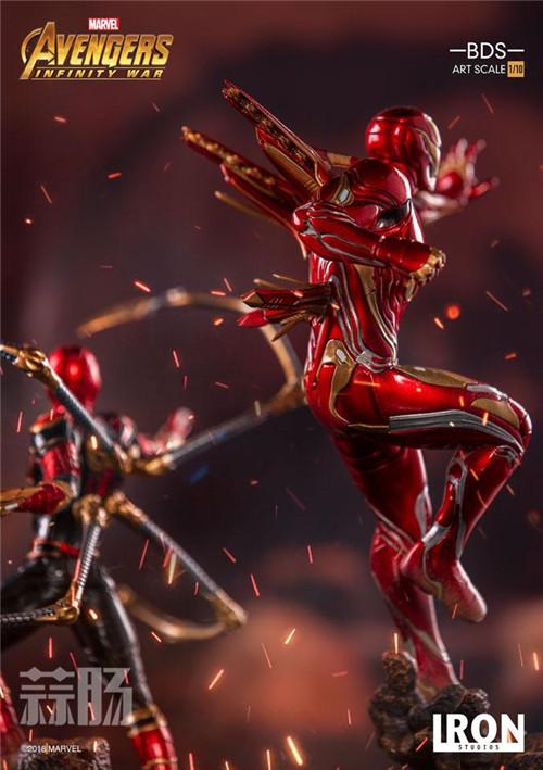 Iron Studios1/10《复联3:无限战争》钢铁侠 MK48来袭! 动漫 第2张