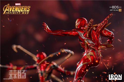 Iron Studios1/10《复联3:无限战争》钢铁侠 MK48来袭! 动漫 第3张