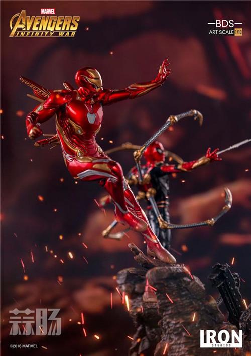 Iron Studios1/10《复联3:无限战争》钢铁侠 MK48来袭! 动漫 第1张