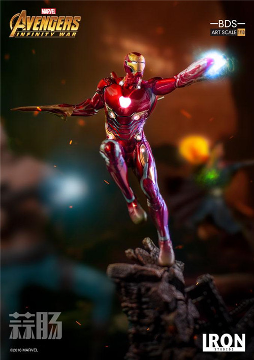 Iron Studios1/10《复联3:无限战争》钢铁侠 MK48来袭! 动漫 第5张