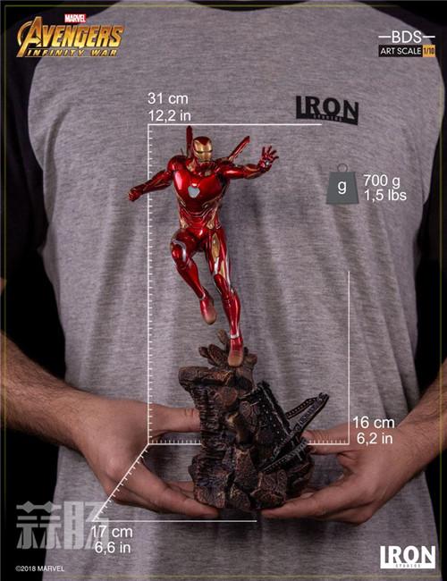 Iron Studios1/10《复联3:无限战争》钢铁侠 MK48来袭! 动漫 第6张