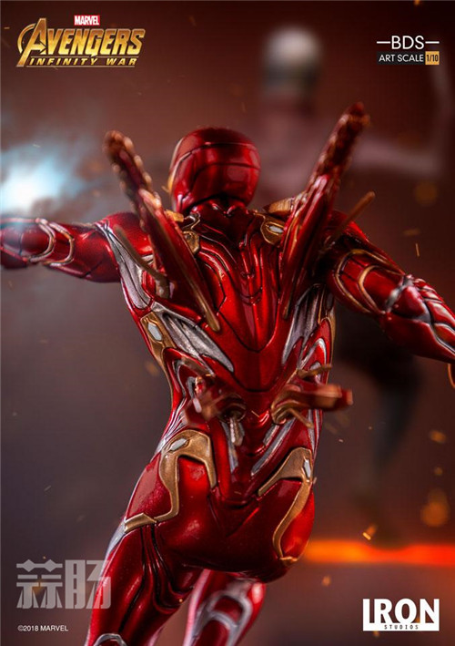 Iron Studios1/10《复联3:无限战争》钢铁侠 MK48来袭! 动漫 第8张