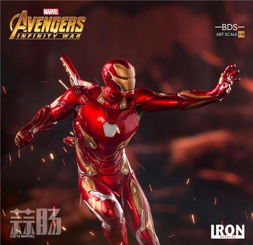 Iron Studios1/10《复联3:无限战争》钢铁侠 MK48来袭! 动漫 第7张